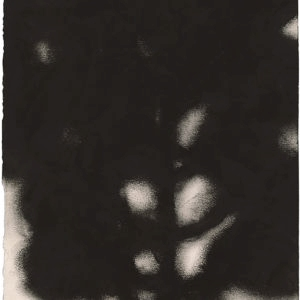 Christiane LÖHR, Untitled, 2018, Oil pastel on paper, 23 x 20 cm (framed: 44 x 42 x 3 cm)