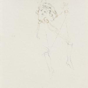 """Christiana SOULOU, """"Les Quatre Points Cardinaux"""", 2018, Watercolour on paper, 41.5 x 29.5 cm (framed: 59 x 46 x 4 cm)"""
