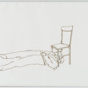 Juan MUÑOZ, 1993, Pencil and ink on white paper, 49 x 69 cm