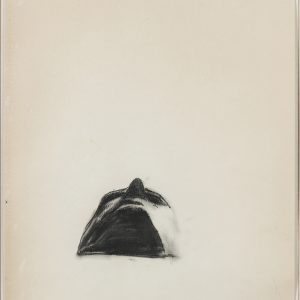 Juan MUÑOZ, 1988, Pencil on paper, 48,5 x 33,5 cm