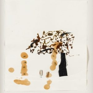 Jonathan PYLYPCHUK, Untitled, 2001, Mixed media on paper, 25 x 22 cm