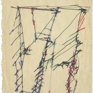Untitled, 1983, Coloured ink on paper, 32 x 22 cm