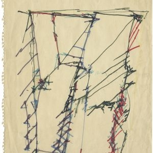 Brice MARDEN, Untitled, 1983, Coloured ink on paper, 32 x 22 cm