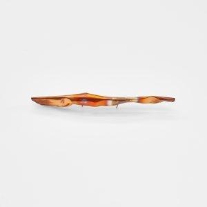 """""""Cloud 1"""", 2020, Copper, Brass, 40 x 8 cm"""