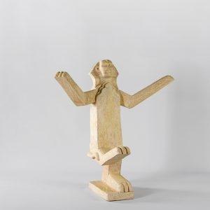 """""""Σφίγγα / Sphinx"""", 2017, Ceramic, 67 x 62 x 41 cm"""