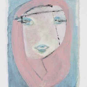 Marisa MERZ, Untitled, 2011, Mixed media on paper, 45 x 33 cm